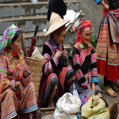 Рынок в Сапе Вьетнам