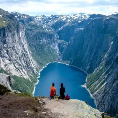 Трекинг к Языку Тролля Норвегия
