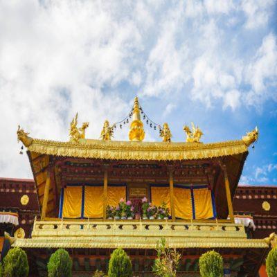 Храм Джоканг Тибет