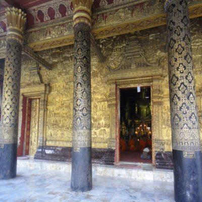 Храм в Луангпрабанге Лаос