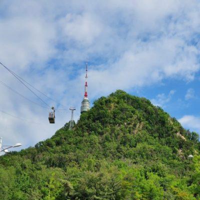 Гора Намсан Сеул Корея