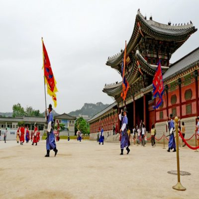 Дворцовый комплекс Кёнбоккун Сеул Корея