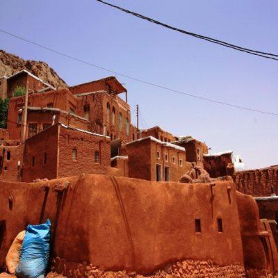 Деревня Абьяне Иран