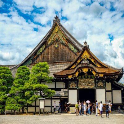 Замок Нидзё в Киото Япония