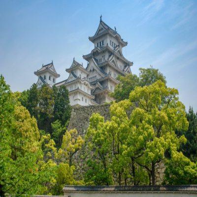 Замок белой цапли в Химедзи Япония