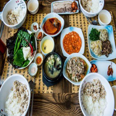 Корейский обед Корея