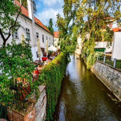 Малая сторона Прага Чехия