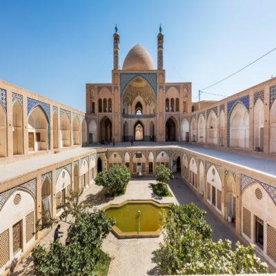 Мечеть Ага Бозорг Кашан Иран