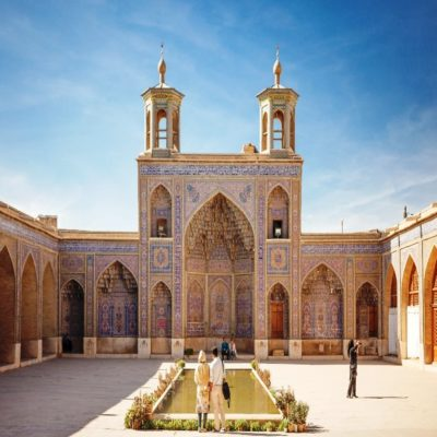 Мечеть Насир Оль Мольк Шираз Иран