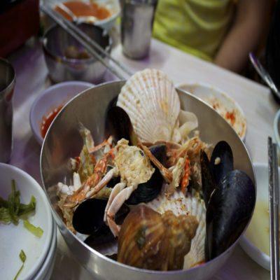Морепродукты Корея