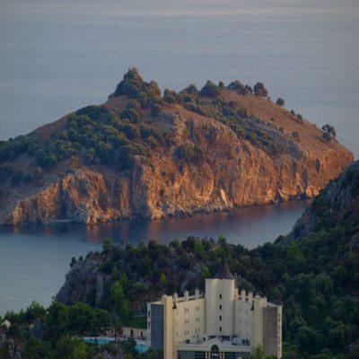 Панорамный вид на остров Баба Адаси