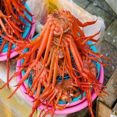 Рыбный рынок в Пусане корея