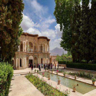 Сад Шазде в Махане Иран
