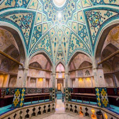 Старинный хаммам Кашан Иран