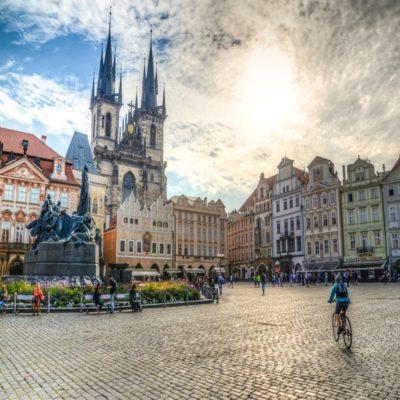 Староместская площадь Прага Чехия