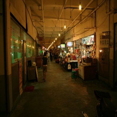 Старый рынок в Сеуле Корея