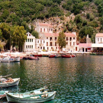 Бухта Киони Итака Греция