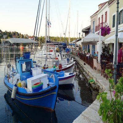 Бухта Фискардо Кефалония Греция