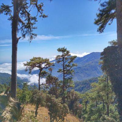 Вид с горы Виктория Мьянма