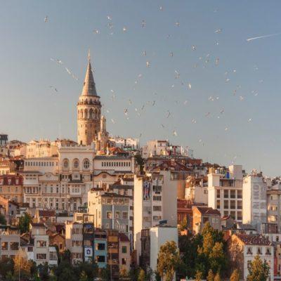 Галатская башня Стамбул Турция