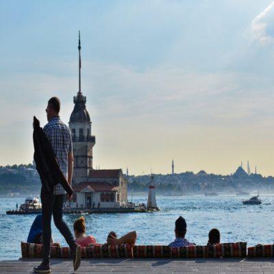 Девичья Башня Стамбул Турция