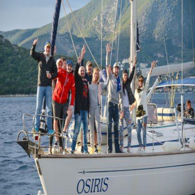 На яхте Греция