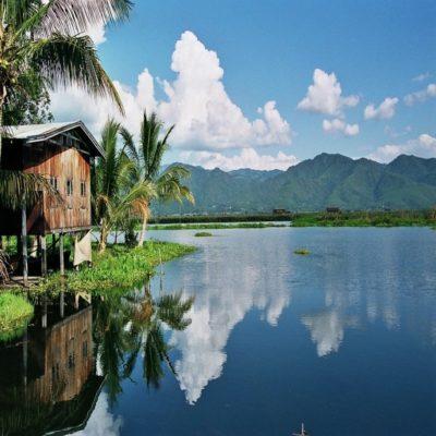 Озеро Инле Мьянма