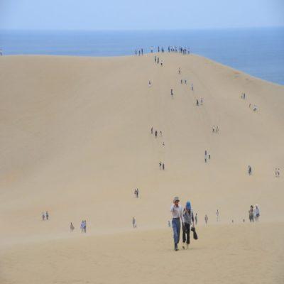 Песчаные дюны Тоттори Япония
