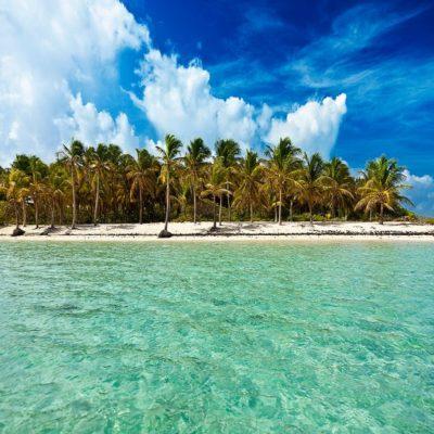 Пляж Мари Галант Гваделупа