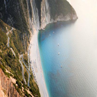 Пляж Миртос Кефалония Греция