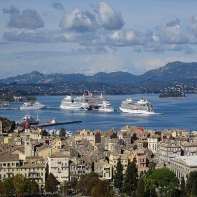 Порт Корфу Греция