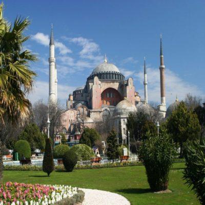Собор Святой Софии Стамбул Турция