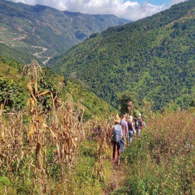 Трекинг по штату Чин Мьянма