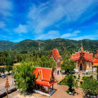 Храм Ват Чалонг на Пхукете Таиланд