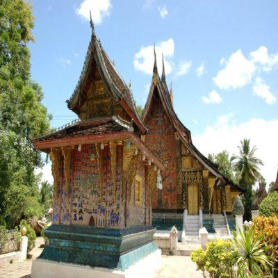Храм Сиенг Тхонг в Луангпрабанге Лаос
