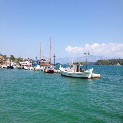Яхты на Лефкасе Лефкас Греция