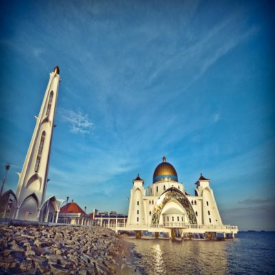 Дворец Султана в Малакке Малайзия