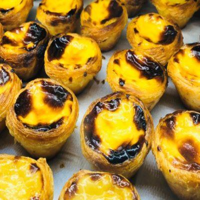 Паштел-де-Ната - португальное пирожное Португалия