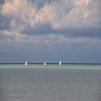 Яхты близ Дюнкерка Франция
