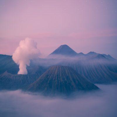 Вулкан Бромо Ява Индонезия