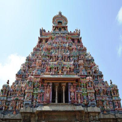 Храм Минакши Мадурай Тамилнад Индия