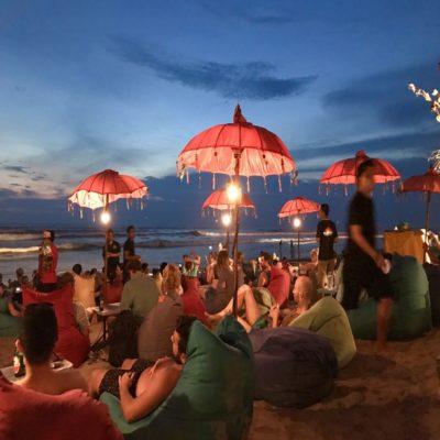 Вечерний Семиньяк Бали Индонезия