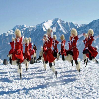 Грузинские национальные танцы Грузия