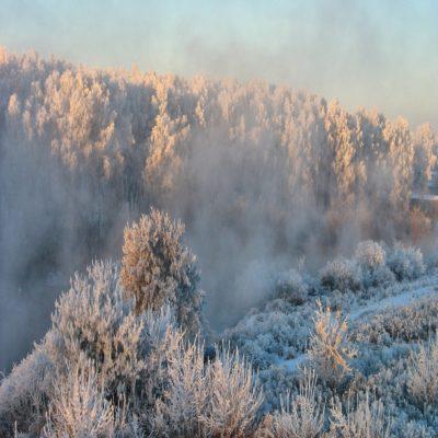 Зимний Урал Россия