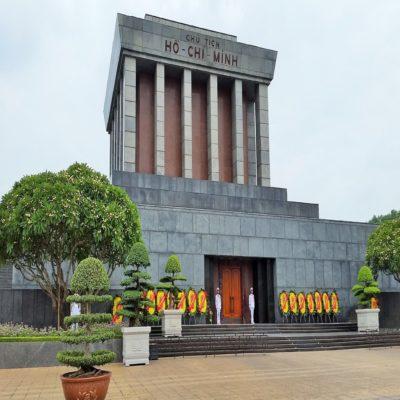 Мавзолей Хо Ши Мина в Ханое Вьетнам