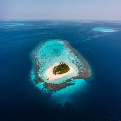 Мальдивы с гидроплана