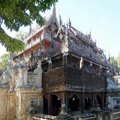 Монастырь золотого дворца Мандалай Мьянма