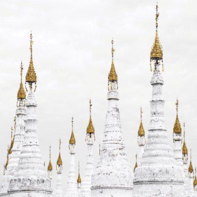 Пагода Сандамуни в Мандалае Мьянма