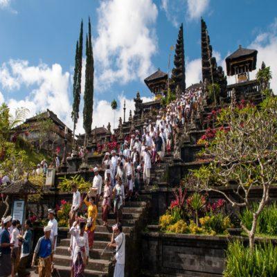 Пура Бесаких Бали Индонезия