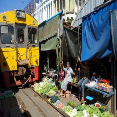 Рынок Маеклонг Таиланд